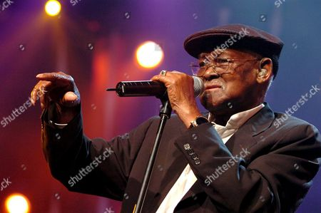 Stock Photo of Cuban Musician Ibrahim Ferrer Performs on the Stravinski Hall Stage During the 39th Montreux Jazz Festival in Montreux Switzerland Late Sunday 10 July 2005 the Festival Will Last Until July 16 Switzerland Schweiz Suisse Montreux