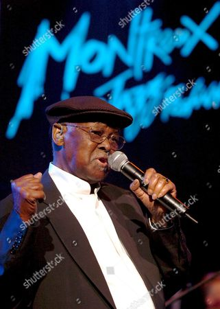 Cuban Musician Ibrahim Ferrer Performs on the Stravinski Hall Stage During the 39th Montreux Jazz Festival in Montreux Switzerland Late Sunday 10 July 2005 the Festival Will Last Until July 16 Switzerland Schweiz Suisse Montreux