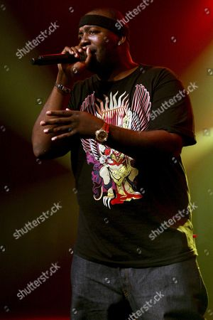 Singer Erick Sermon of Us Hip-hop Group Epmd Performs on the Stage of the Miles Davis Hall During the 42nd Montreux Jazz Festival in Montreux Switzerland Late 19 July 2008 the Montreux Jazz Festival Will Last Until July 19 Switzerland Schweiz Suisse Montreux
