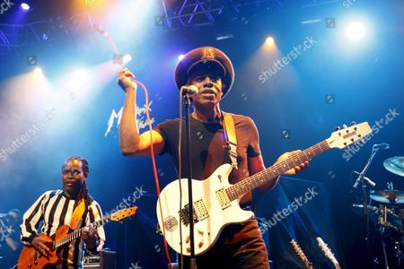 British Reggae Musician Eddy Grant (born Edmond Montague Grant) Performs on the Stage of the Stravinski Hall During the 42nd Montreux Jazz Festival in Montreux Switzerland 16 July 2008 the Montreux Jazz Festival Runs From July 4 to July 19 Switzerland Schweiz Suisse Montreux