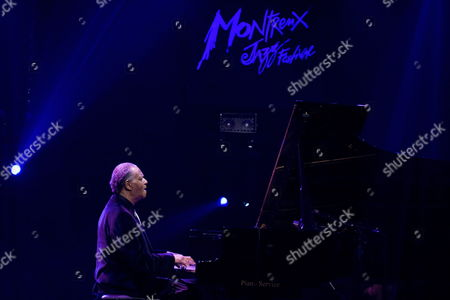 Us Jazz Pianist Mccoy Tyner Performs on the Miles Davis Hall Stage During the 43rd Montreux Jazz Festival in Montreux Switzerland 14 July 2009 Switzerland Schweiz Suisse Montreux