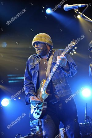 Canadian Producer and Singer Daniel Lanois of the Group Black Dub Performs on the Miles Davis Stage During the 45th Montreux Jazz Festival in Montreux Switzerland 13 July 2011 Switzerland Schweiz Suisse Montreux