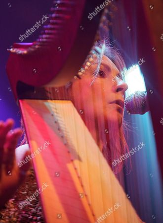 Irish Musician Moya Brennan Performs on Stage During Her Concert at the Avo Session in Basel Switzerland Sunday 14 November 2004 Switzerland Schweiz Suisse Basel