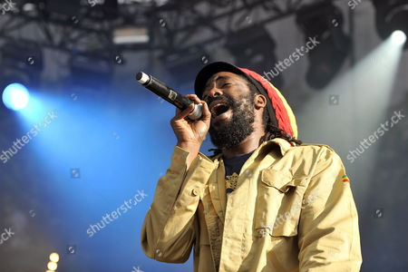Jamaican Singer Omar Perry Performs on the Main Stage During the 34th Paleo Festival in Nyon Switzerland 23 July 2009 the Paleo Open-air Music Festival Runs From 21 to 26 July Switzerland Schweiz Suisse Nyon