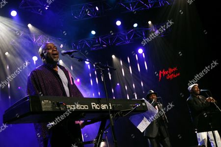 Congolese Pianist Guitarist and Composer Ray Lema Perfoms on the Stravinski Hall Stage at the 43rd Montreux Jazz Festival in Montreux Switzerland 10 July 2009 the Festival Runs Until 18 July Switzerland Schweiz Suisse Montreux