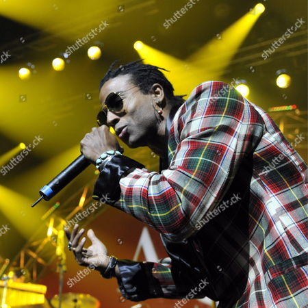 Member of Cuban Hip Hop Band 'Orishas' Singer Yotuel Romero Performs on Stage at the Avo Session in Basel Switzerland 30 October 2009 Switzerland Schweiz Suisse Basel