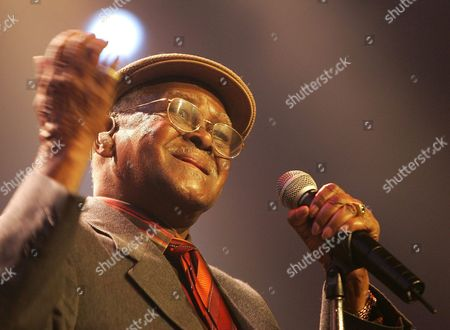 Cuban Musician Ibrahim Al Jarreau Performs on Stage During His Concert at the Avo Session in Basel Switzerland Wednesday 10 November 2004 Switzerland Schweiz Suisse Basel