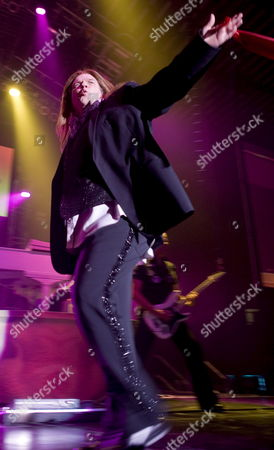 U S Rockstar Meat Loaf (michael Lee Aday) Performs on Stage During His Concert in Basel Switzerland 25 June 2007 Switzerland Schweiz Suisse Basel