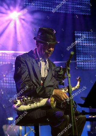 Us Saxophon Player Ornette Coleman Performs on Stage During the Special Event 'Hommage to Nesuhi Ertegun' of the 40th Montreux Jazz Festival at the Stravinski Hall in Montreux Switzerland Late Sunday 02 July 2006 Nesuhi Ertegun Joining His Brother Ahmet in the 50s at Atlantic Records Has Contracted and Produced Many Artists Which Have Pushed Atlantic to One of the Most Important Jazz Labels Worldwide Nesuhi Ertegun Supported the Montreux Jazz Festival From the Beginning Until His Death in 1989 Switzerland Schweiz Suisse Montreux