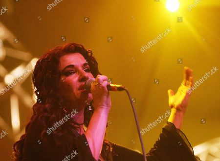 English-egypt Singer Natacha Atlas Performs on Stage During Her Concert at the Avo Session in Basel Switzerland Sunday 14 November 2004 Switzerland Schweiz Suisse Basel
