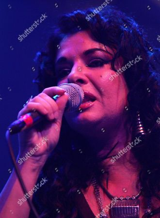 English-egyptian Singer Natacha Atlas Performs on Stage During Her Concert at the Avo Session in Basel Switzerland Sunday 14 November 2004 Switzerland Schweiz Suisse Basel