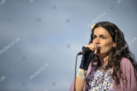 French-israeli Singer and Songwriter Yael Naim Performs on the Main Stage During the 36th Paleo Festival in Nyon Switzerland 24 July 2011 the Paleo Open-air Music Festival the Largest in Switzerland with 230'000 Spectators in Six Days Runs From 19 to 24 July Switzerland Schweiz Suisse Nyon