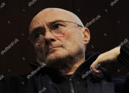 British Musician Phil Collins Talks About His 'Little Dreams Foundation' in Zurich Switzerland 14 December 2011 the Little Dreams Foundation was Created in 2000 by Phil Collins and His Then-wife Orianne Cevey Its Mission is to Support Young Talents in Artistic and Sporting Fields Switzerland Schweiz Suisse Zurich