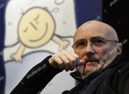 Editorial picture of Switzerland Phil Collins - Dec 2011