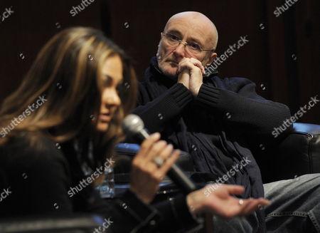 Editorial photo of Switzerland Phil Collins - Dec 2011