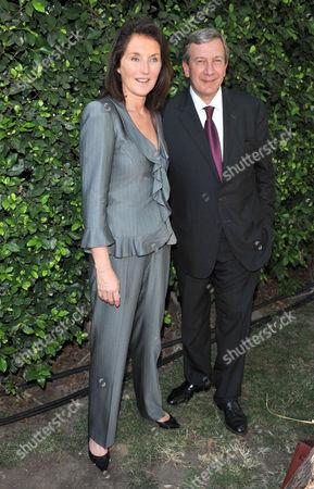 Cecilia Attias and husband Richard Attias