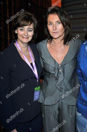 Cecilia Attias with Cherie Blair