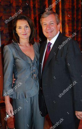 Cecilia Attias and Richard Attias