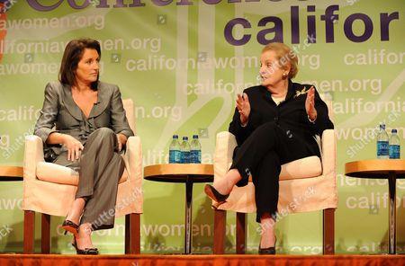 Cecilia Attias and Madeleine Albright