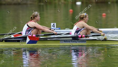 Editorial picture of Switzerland Rowing Olympic Qualification - May 2012