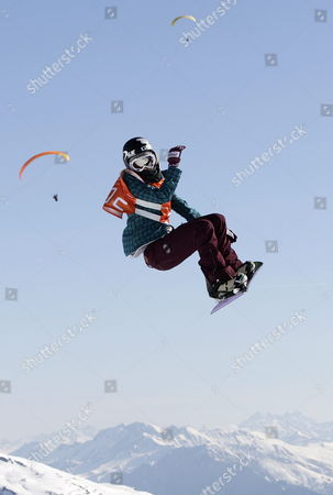 Editorial image of Switzerland Snowboard European Open 2012 - Mar 2012