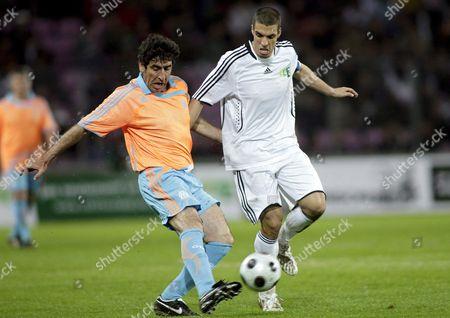 Editorial image of Switzerland Soccer Stars - Apr 2008