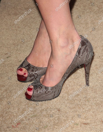 Rochelle Gores' shoes
