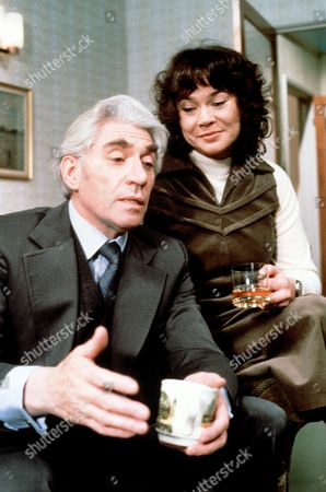 Stock Picture of 'Tales of the Unexpected'  - 'Theres One Born Every Minute' -  Frank Finlay and Heather Sears