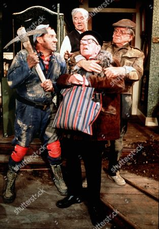 'Tales of the Unexpected' - 'The Moles' - Harry H.Corbett, Bill Owen, Fulton Mackay and Joe Gladwin