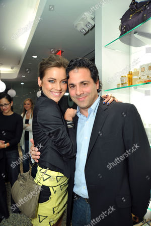 Jessica Stroup and Gabe Sachs