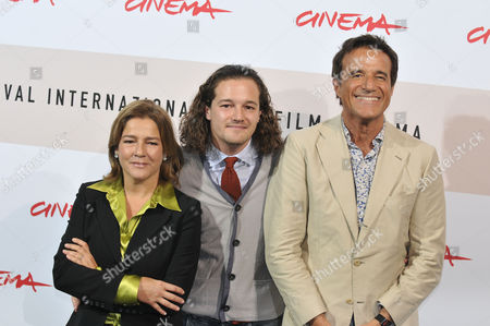 Silvia Verdone (mother of Brando and wife of Christian De Sica)  the director Brando De Sica, Christian De Sica