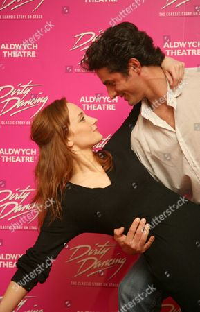 Martin Harvey (Johnny) and Leanne Rowe (Baby)