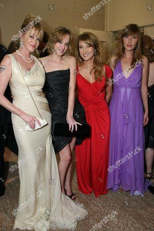 Melanie Griffith, Dakota Johnson, Jane Seymour & Katherine Flynn