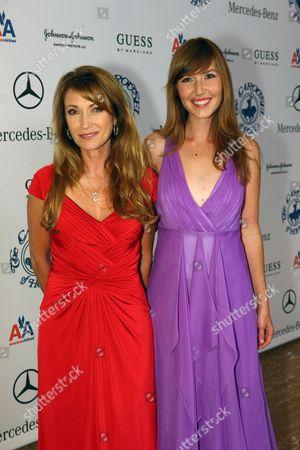 Jane Seymour and Katherine Flynn