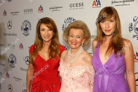 Jane Seymour, Barbara Davis and Katherine Flynn