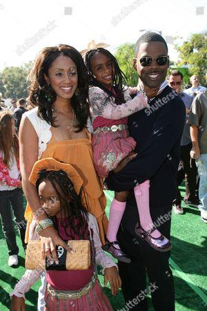 Malaak Compton Rock, Chris Rock and daughters Lola and Zahra