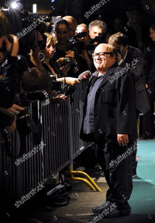 Us Actor Danny De Vito Arrives on the Green Carpet to Accept the Golden Icon Award on Behalf of Us Actor Michael Douglas at the Zurich Film Festival in Zurich Switzerland S03 October 2010 Switzerland Schweiz Suisse Zurich