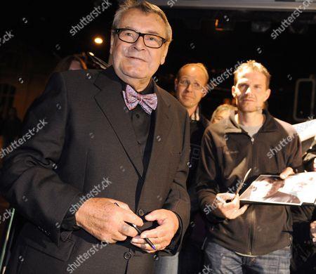 Czech Film Director Milos Forman Arrives For the Closing Night of the Zurich Film Festival in Zurich Switzerland 02 October 2010 Switzerland Schweiz Suisse Zurich
