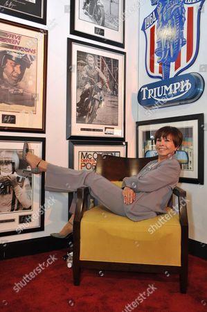 Stock Photo of Neile Adams, Steve McQueen's wife