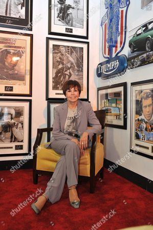 Stock Image of Neile Adams, Steve McQueen's wife
