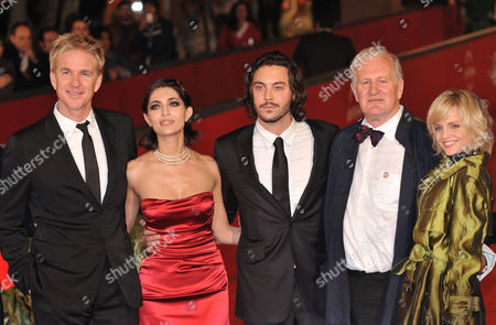 Matthew Modine, Caterina Murino, Jack Huston, director John Irvin and Mena Suvari