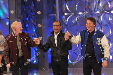 Donny Most, Host Carlo Conti and Anson Williams