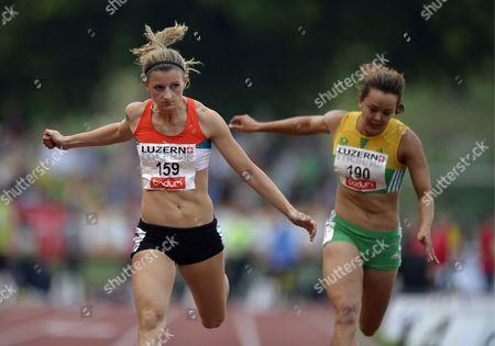 Editorial photo of Switzerland Athletics - Jul 2013