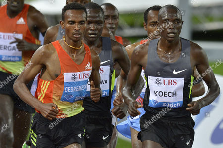 Editorial photo of Switzerland Athletics Diamond League 2012 Zurich - Aug 2012