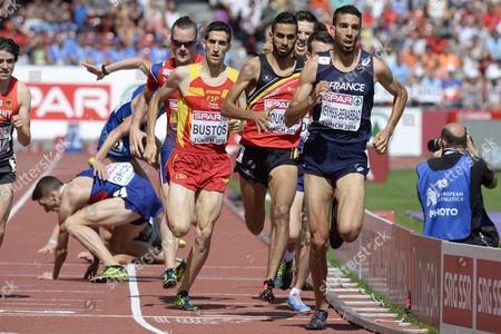 Editorial picture of Switzerland Athletics European Championships - Aug 2014