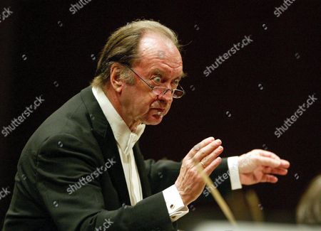 A Picture Dated 01 April 2006 Shows Austrian Conductor Nikolaus Harnoncourt in Lucerne Switzerland Nikolaus Harnoncourt Died at the Age of 86 Late 05 March 2016 According to Media Reports Switzerland Schweiz Suisse Lucerne