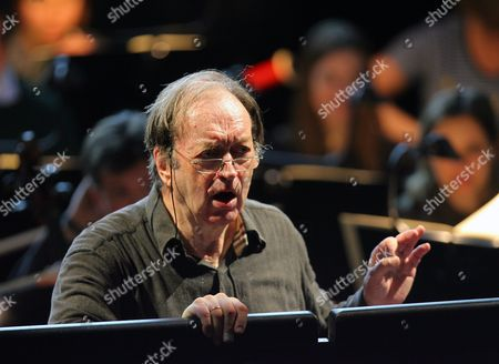 A Picture Dated 14 February 2008 Shows Austrian Conductor Nikolaus Harnoncourt at the Opera House in Zurich Switzerland Nikolaus Harnoncourt Died at the Age of 86 Late 05 March 2016 According to Media Reports Switzerland Schweiz Suisse Zurich