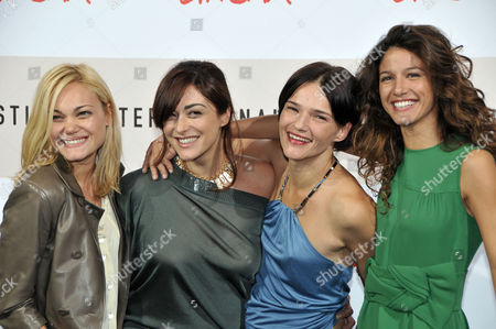 Romina Carrisi, Valentina Lodovini, Chiara Caselli and Maria Jurado