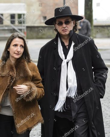 French Chef Anne-sophie Pic (l) and French Chef Marc Veyrat (r) Pay Tribute to Swiss French Chef Benoit Violier During His Funeral Ceremony at the Cathedral of Lausanne Western Switzerland 05 February 2016 Three-star Chef Violier 44 Whose Restaurant 'Hotel De Ville' in Crissier Near Lausanne Recently Topped a List of the World's Best Has Been Found Dead of an Self-inflicted Gunshot on 31 January 2016 Switzerland Schweiz Suisse Lausanne