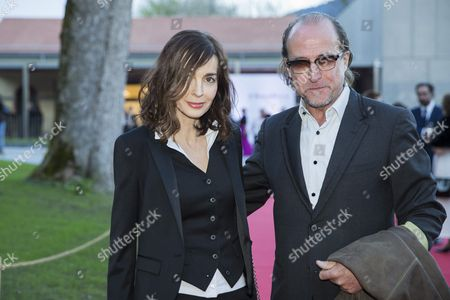 French Actress Anne Parillaud (l) Poses with a Guest During the the Inauguration of the Museum 'Chaplin's World by Grevin' at the Manoir De Ban in Corsier Above Vevey Switzerland 16 April 2016 Chaplin's World a Museum on English Comic Actor Filmmaker and Composer Charlie Chaplin is Set in a 14 Hectare Park of Lush Trees and Occupies the Mansion where Chaplin Lived His Last 25 Years Switzerland Schweiz Suisse Corsier-sur-vevey